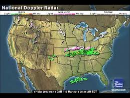 clear weather map