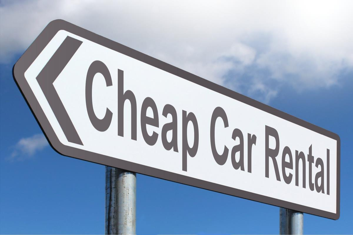 How To Get A Cheap Rental Car