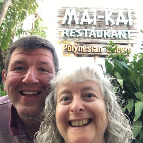 Joe and Sharon at the Mai-Kai
