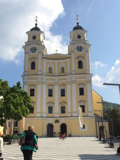 Mondsee Church - Outside