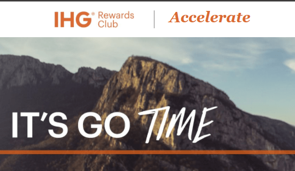 Sign Up Now For The New IHG Accelerate Promotion