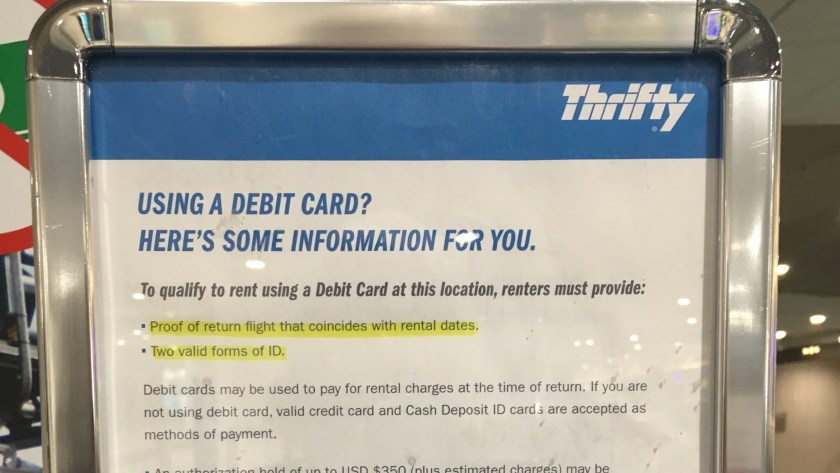 using debit cards to qualify for a rental - Rental Car Places That Accept Debit Cards