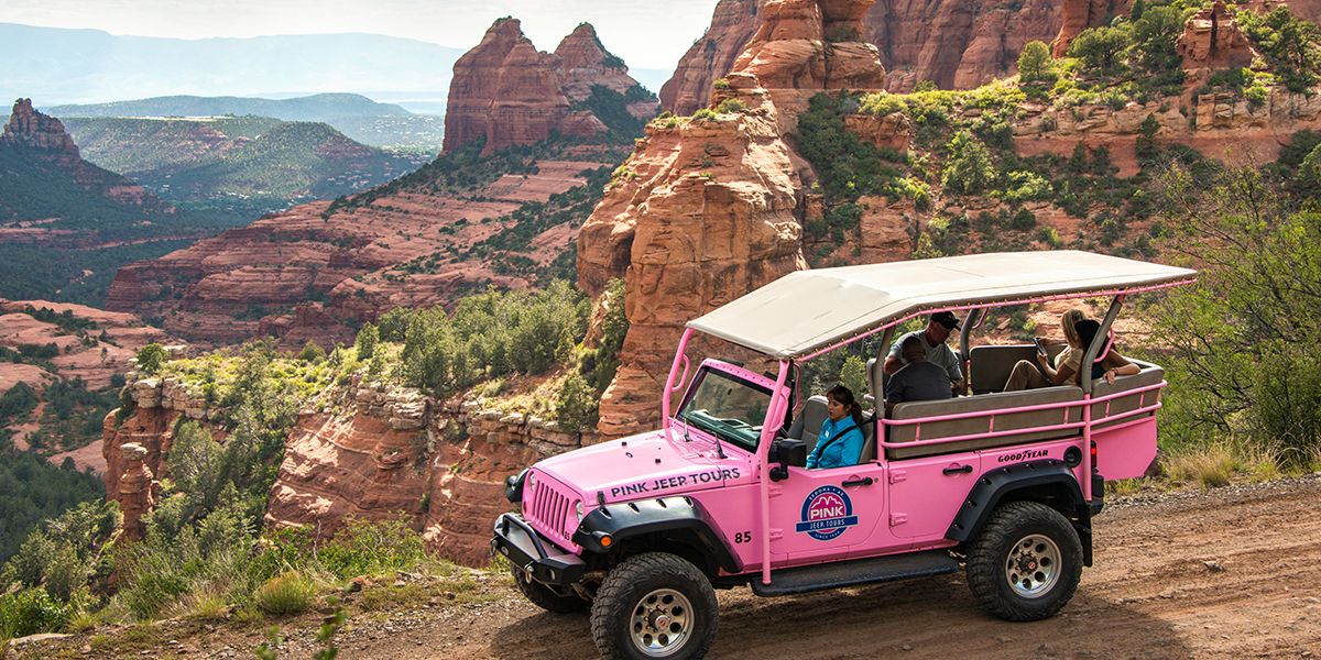 Our Favorite Way To See Sedona: In A Pink Jeep