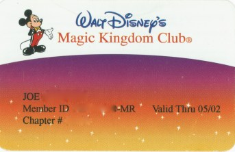 Magic Kingdom Club
