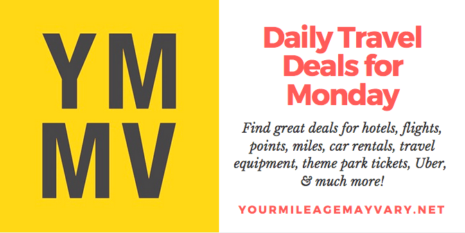 YMMV Travel Deals: Mon., Oct. 15, 2018