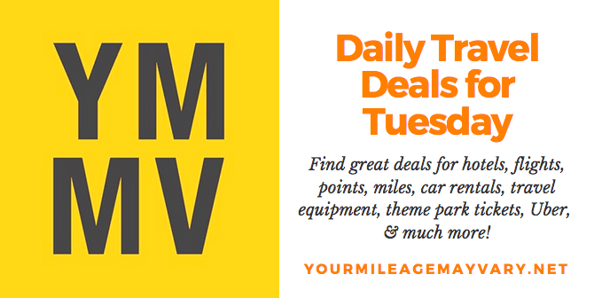 YMMV Travel Deals: Tue., Oct. 16, 2018