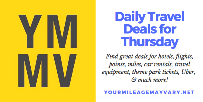 YMMV Travel Deals: Thur., Oct. 18, 2018
