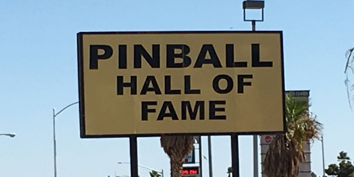Reliving My Past At The Pinball Hall Of Fame In Las Vegas