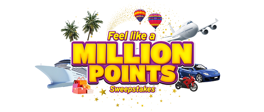 """Sweepstakes Alert! Enter to Win Citibank's """"Feel Like A Million Points"""" Sweepstakes"""