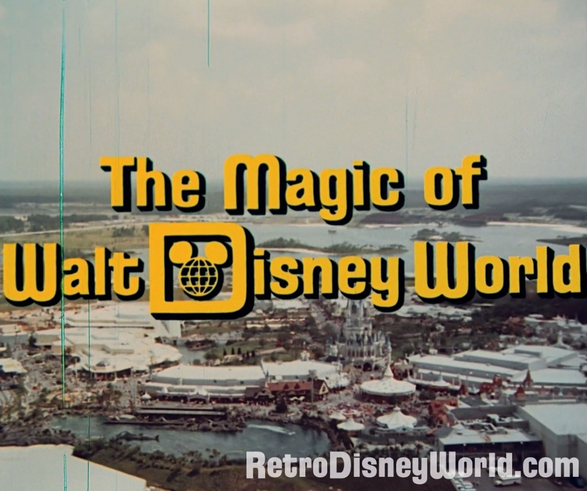 Walt Disney World Is 47 Years Old! Here's An Amazing Video From When The Park Was Just a Babe!