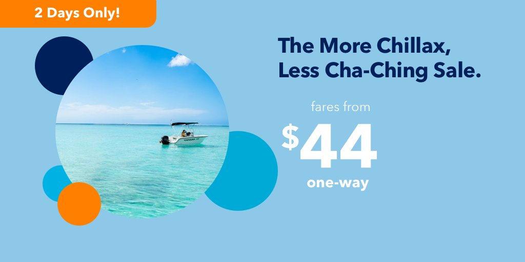"""Just Started! JetBlue's """"The More Chillax, Less Cha-Ching"""" Flash Sale"""