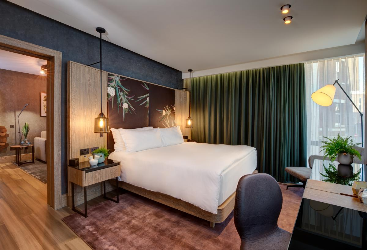 The World's First Entirely Vegan Hotel Suite Is Now Taking Reservations – And You Can Use Points!