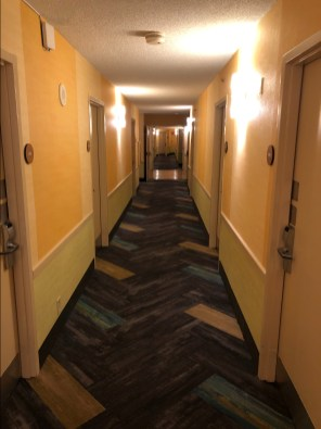 La Quinta Hallway