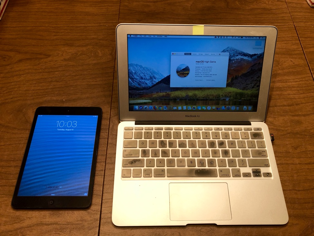 Comparing The iPad Pro Versus MacBook Air For Working On The Road - Your Mileage May Vary