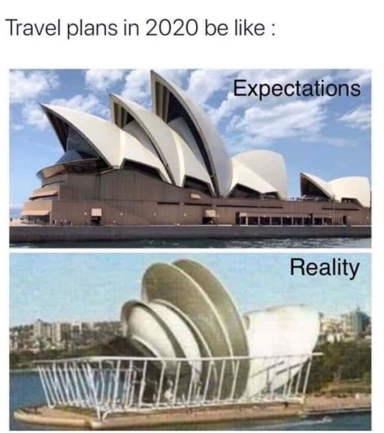X COVID ExpectationsBeLike