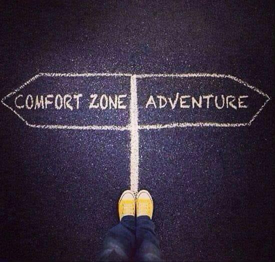XX ComfortZoneVs.Adventure