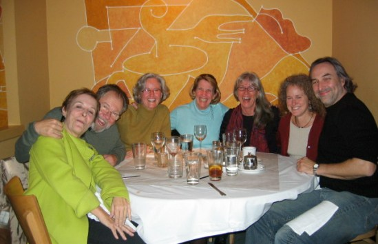 Neurofeedback Group - celebrating after thinking