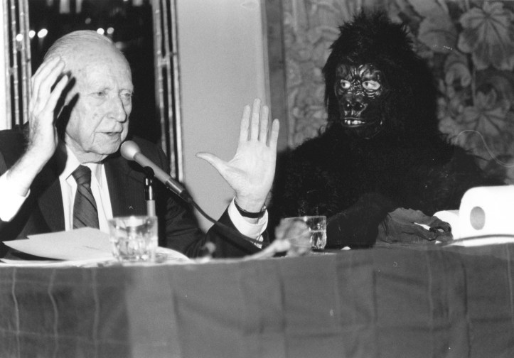 Bowen and the gorilla