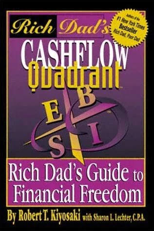 Book cover of Cashflow Quadrant
