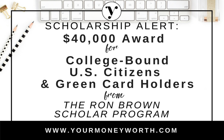 Scholarship Alert: $5,000 Award for U.S. Citizens & Green