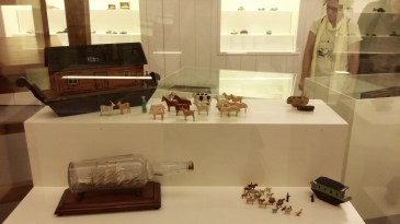 the new temporary exhibition of toy ships is a must-see!