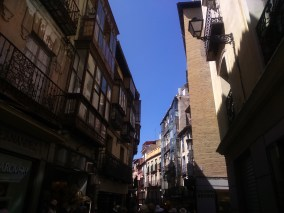 charming, narrow streets of Toledo