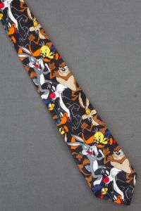 Looney Tunes Neckties - Novelty men's cartoon ties