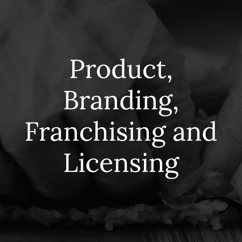 Product Branding Franchising and Licensing Link