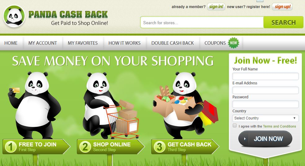Panda Cash Back Review