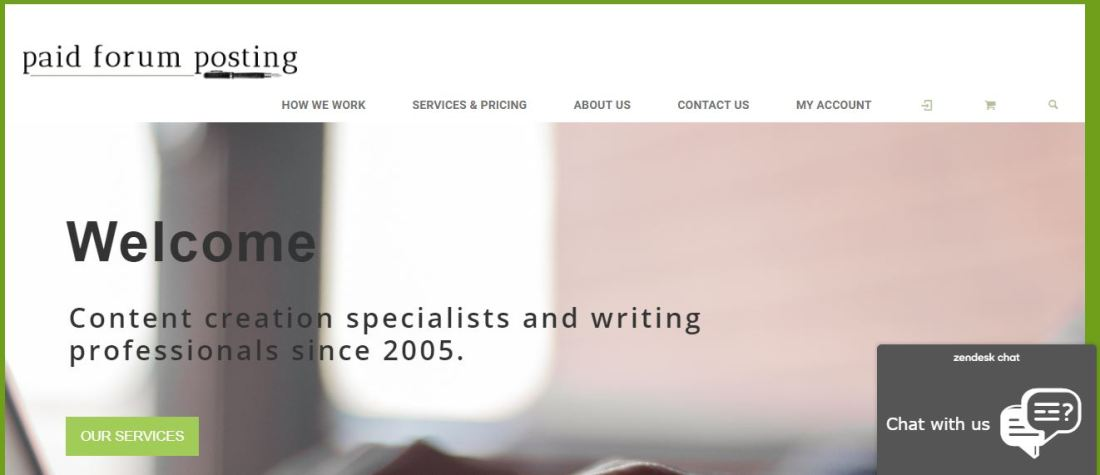 paid forum posting Homepage