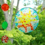 How To Make Melted Bead Sun Catchers