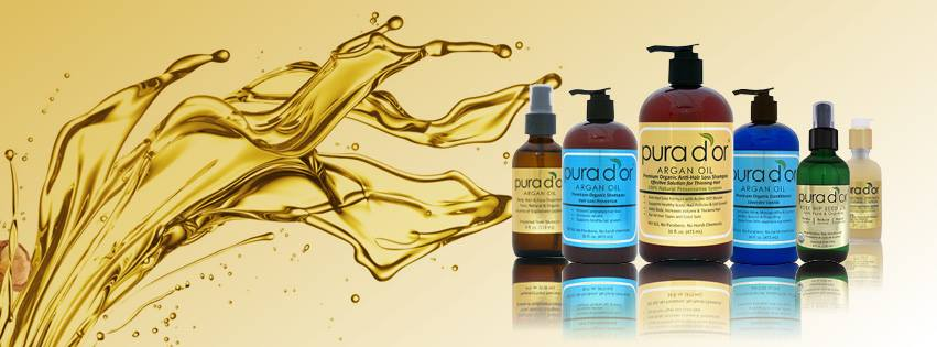Product Review and Giveaway: Pura D'or Organic Argan Oil Anti-Hair Loss Shampoo & Conditioner