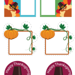 How to Easily Decorate Your Home for Thanksgiving W/ Free Printables