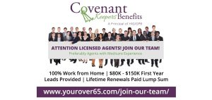 Become a team member of Covenant Keepers Benefits