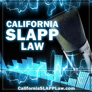California SLAPP Law Cover