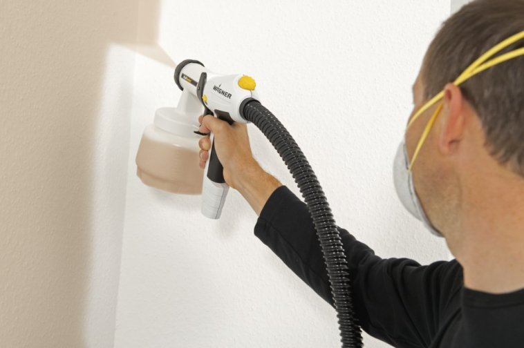 Paint Sprayer for Walls and Ceilings