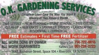OK Gardening