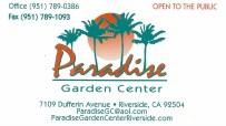 Paradise Garden Center