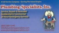 Plumbing Specialists
