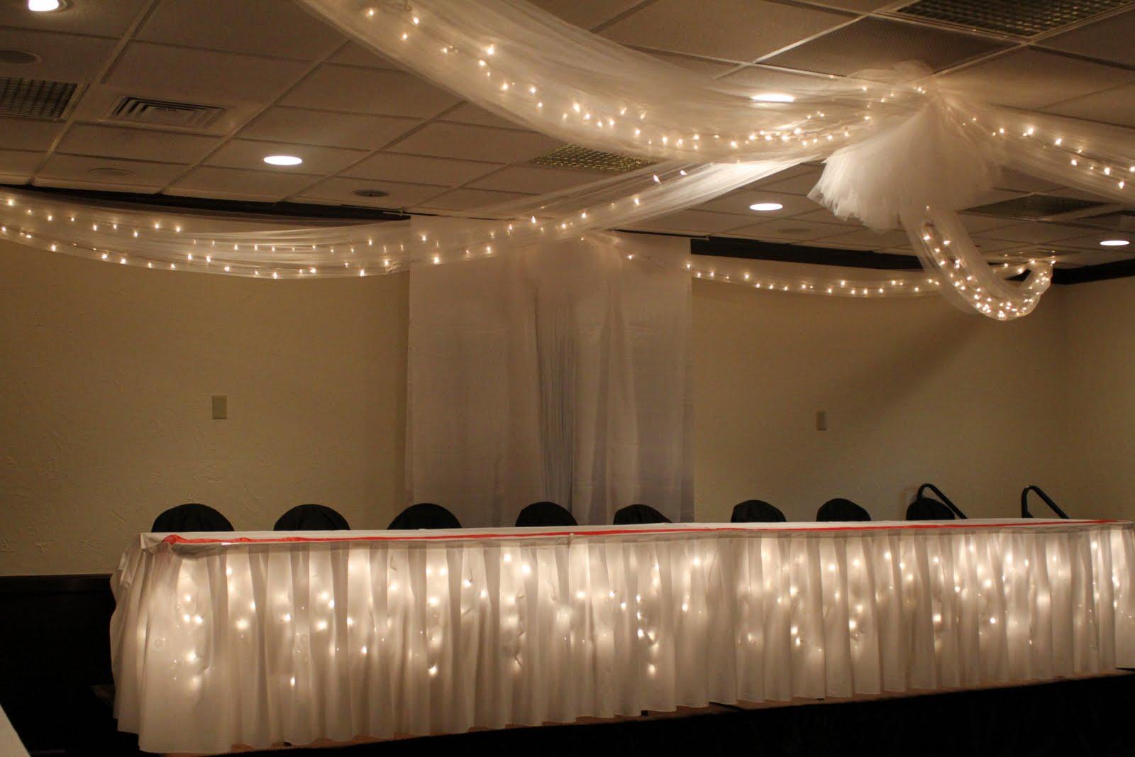 Ceiling Decor  Toledo Wedding Planner  Perrysburg