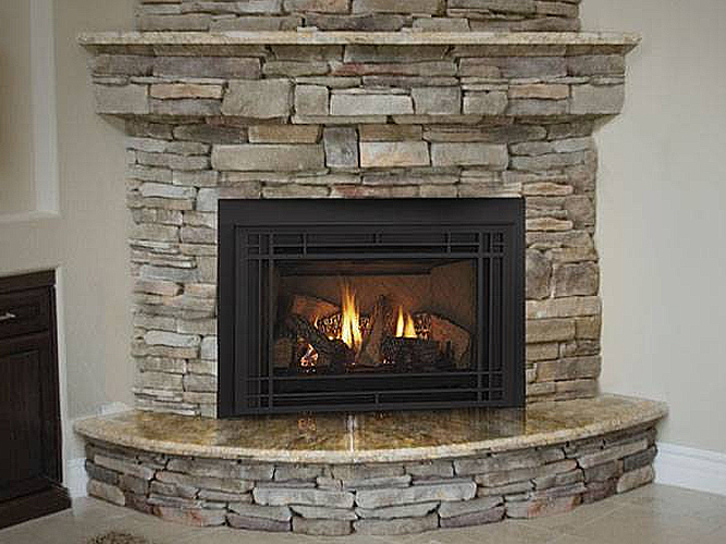Install Gas Fireplace In Existing Home Fireplace Inserts At The Place