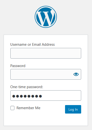 Your OTP Authenticator Plugin - WP Login