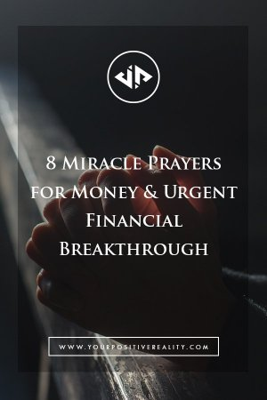 8 Miracle Prayers for Money & Urgent Financial Breakthrough