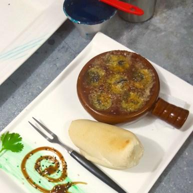 Garlic and parsley Escargots