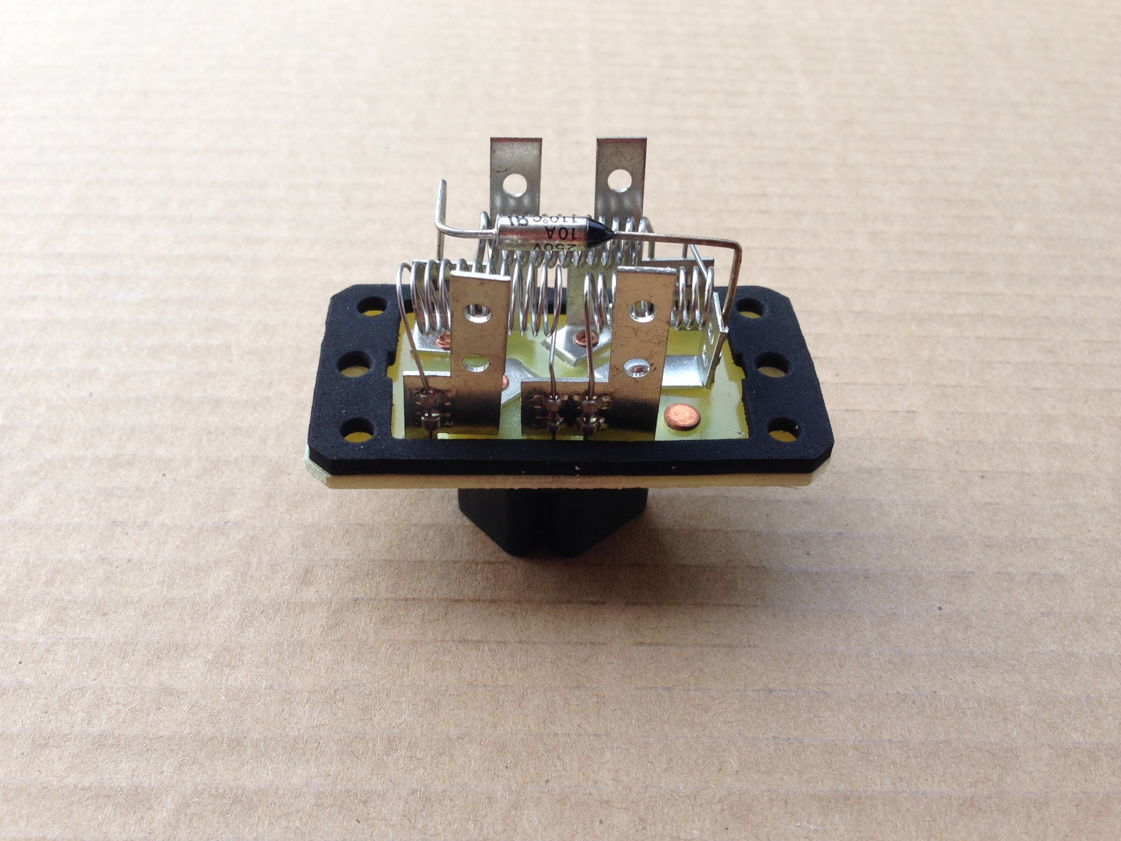 Blower Motor Resistor Control Module 2006 On Ford F150 Blower Motor