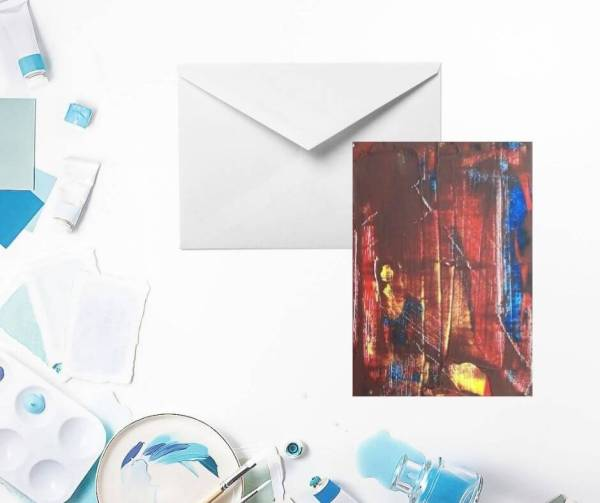 Finding God at Depth Greeting Card by Yours Faithfully Hannah Kirk