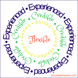 Experienced, Credible, Skilled, Flexible, Expert