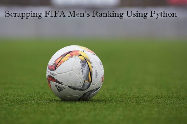 Scrapping FIFA Men's Ranking data