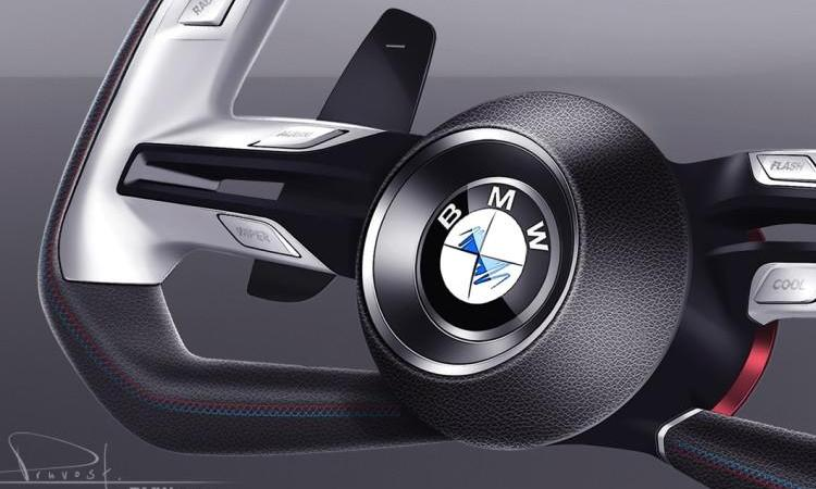 BMW Concept Car Pebble Beach 2015