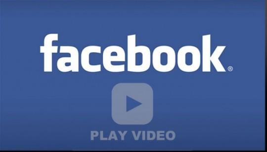 Facebook video upload